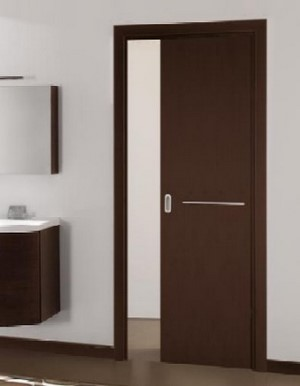 Дверь-купе в минималистичном стиле