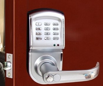 Кодовый замок на дверь механический