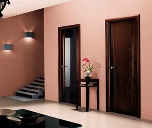 Цвет межкомнатных дверей в интерьере