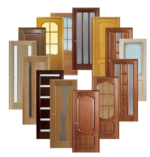 Коллаж из дверей
