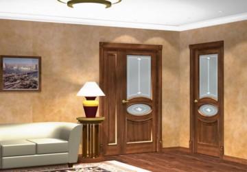 Комната с двумя дверями