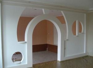 Красивая арка с вырезами