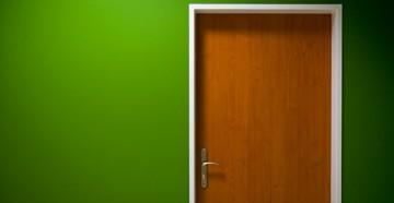 Обычная дверь