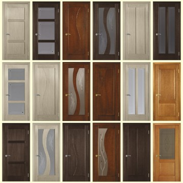 Очень много дверей