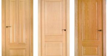 Три деревянные двери