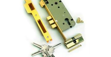 Врезной замок и ключи