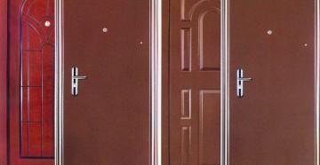 Четыре входные двери