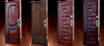Четыре входных двери