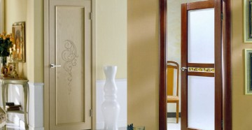 Две разные межкомнатные двери