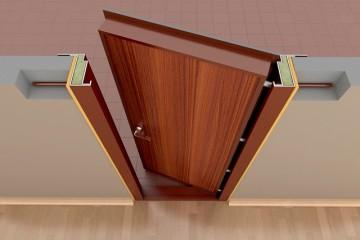 Дверь и коробка сверху
