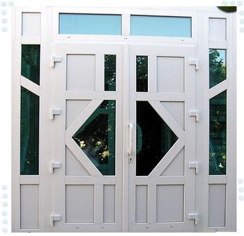 Двойная входная пастиковая дверь