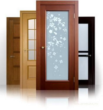 Межкомнатные двери друг за другом