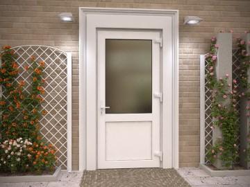 Как настроить металлопластиковую дверь