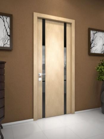 Светлая дверь в комнату