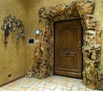 Очень красивый дизайн входа в квартиру