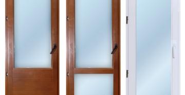 Три пластиковые двери