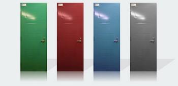Четыре разноцветные двери
