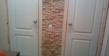 Две белые двери