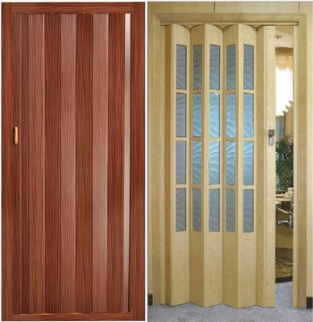 Две двери гармошка