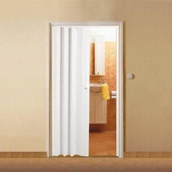 Белая дверь гармошка