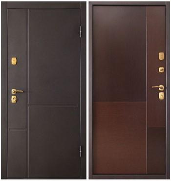 Две двери-сейф