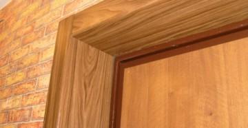 Дверные откосы входной двери
