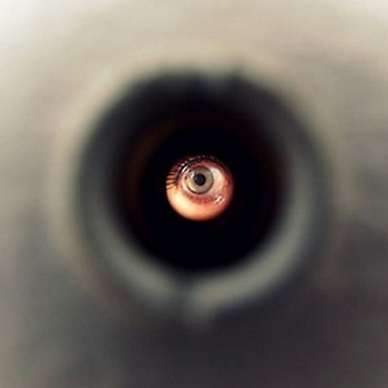 Глаз в дверном глазке