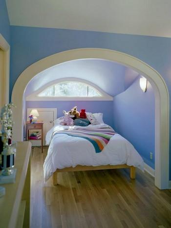 Красивая арка в спальню