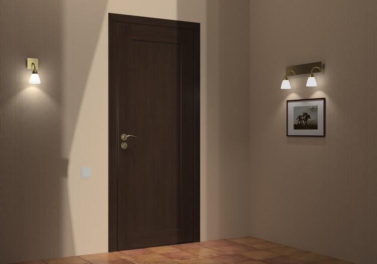 Входная дверь изнутри фото