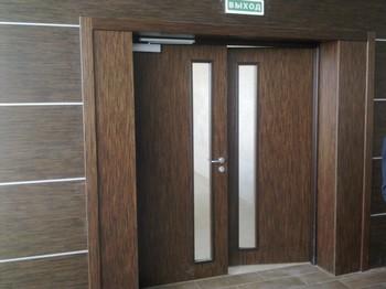 Маятниковые входные двери