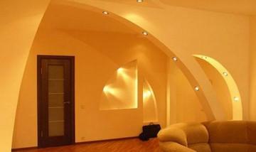 Необычная арка в квартире