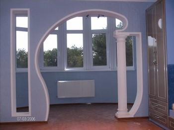 Очень красивая и необычная арка
