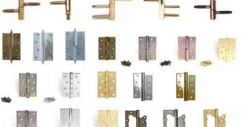 Очень много дверных петель