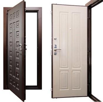 Открытые входные двери
