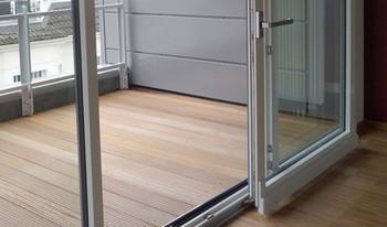 Раздвигающаяся дверь на лоджию