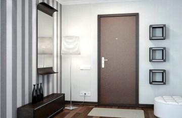 Стильная входная дверь