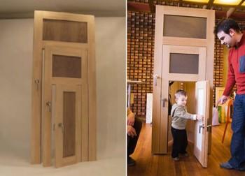 Тройная дверь