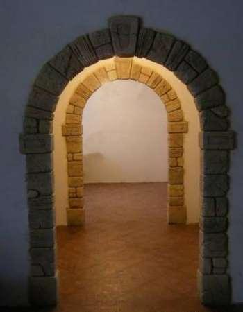 Оформление арок декоративным камнем