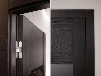 Скрытые петли для двери