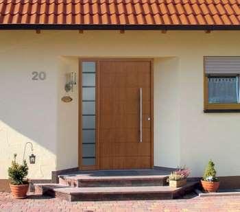 Стильная уличная дверь