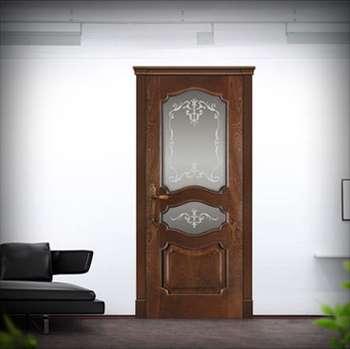 Дверь дориан со стеклом