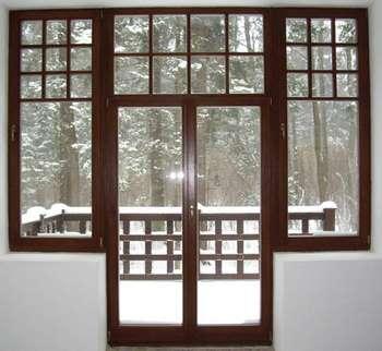 Красивый балконный блок
