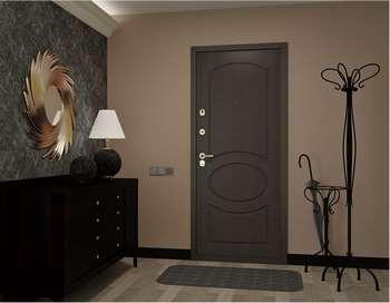 Стильная входная дверь в квартире