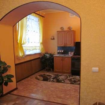 Широкая арка на кухню