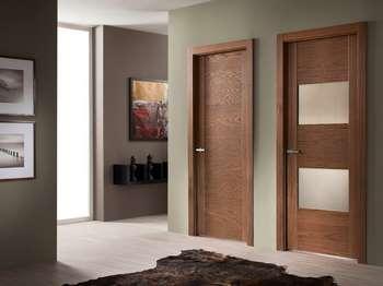 Стильные шпонированные двери