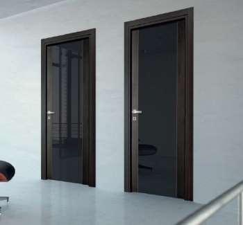 Межкомнатные глянцевые двери