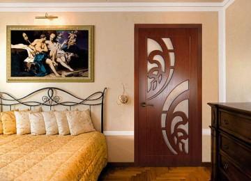 Размеры дверного полотна и проема