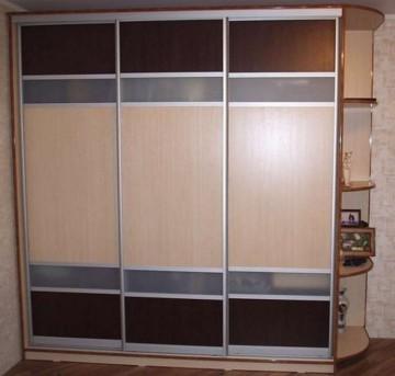 Виды дверей для шкафа, механизмы открывания