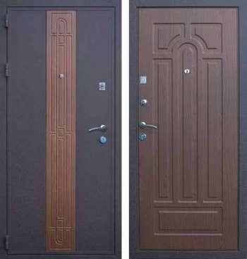 Две стальные входные двери