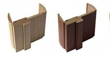 Четыре цвета дверной коробки